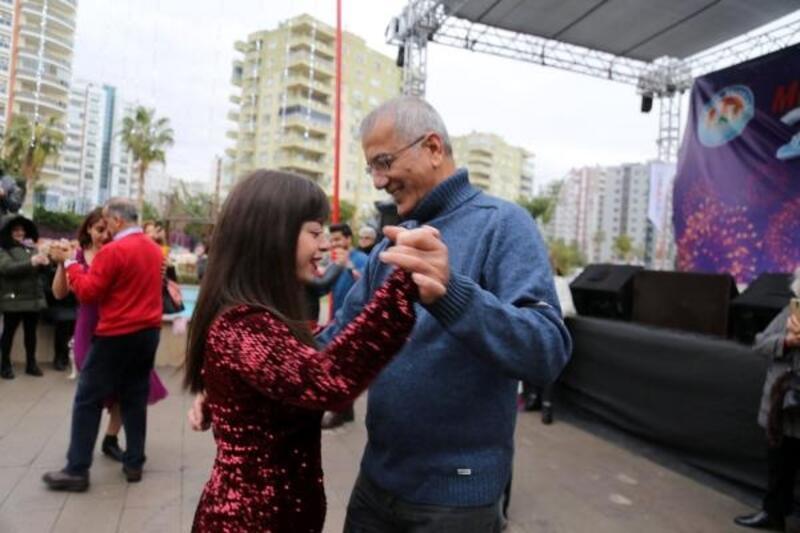 Yeni yıla tangolu karşılama