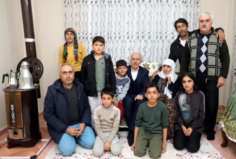 Başkan Gültak, terör mağduru aileye sahip çıktı
