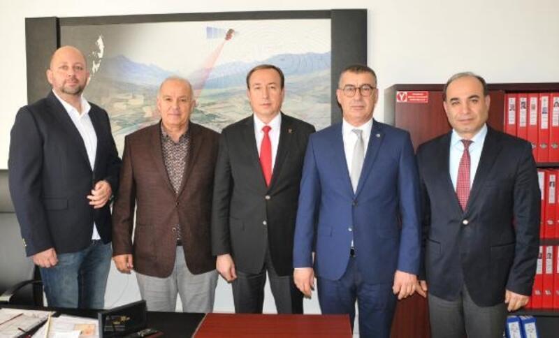 ATSO Gayrimenkul Komitesi, Muratpaşa Tapu Müdürünü ziyaret etti