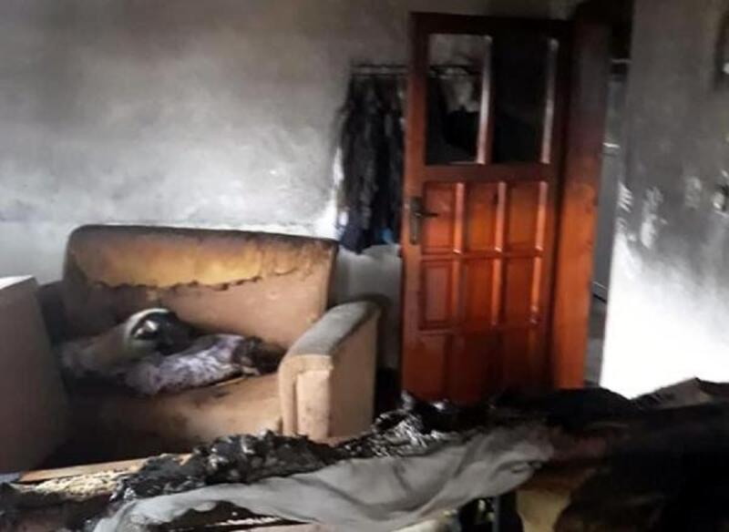 Uzatma kablosu yangına neden oldu