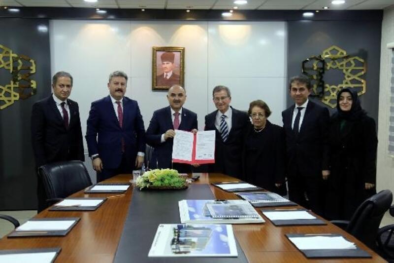 Kayseri'de okul yapımı için protokol imzalandı
