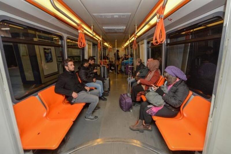 ANKARAY vagonlarında koltuk düzenlemesi