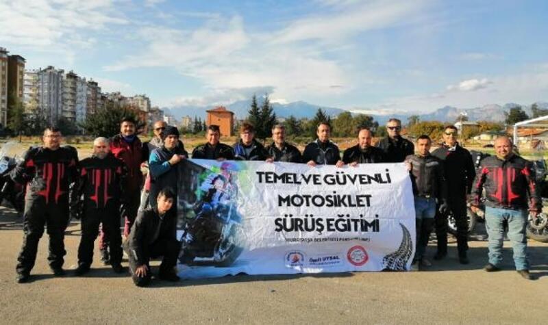 Muratpaşa personeline motosiklet eğitimi