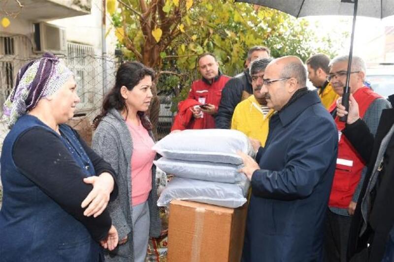 Vali Demirtaş sel felaketinin ardından yapılan çalışmaları değerlendirdi