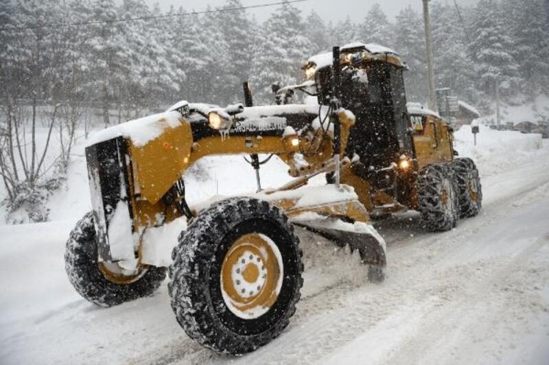 Osmangazi Belediyesi karla mücadeleye hazır