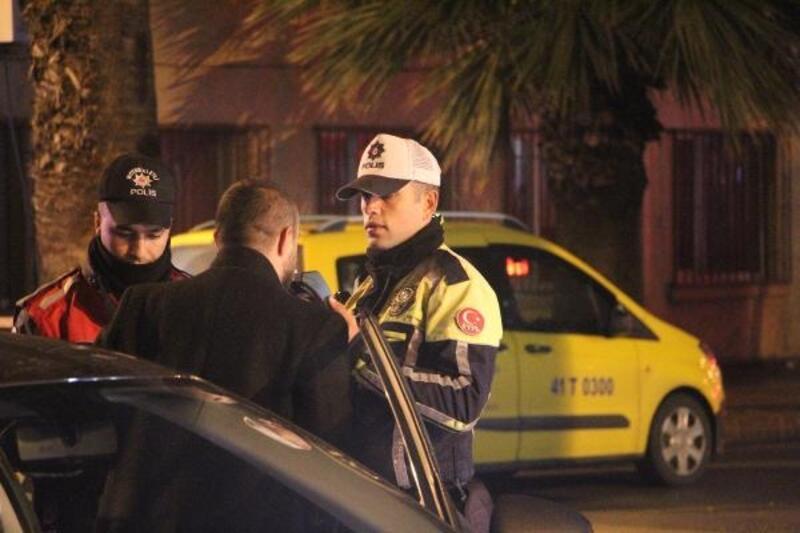 Kocaeli'de yılbaşında 3 bin 172 polis ve jandarma görev yaptı