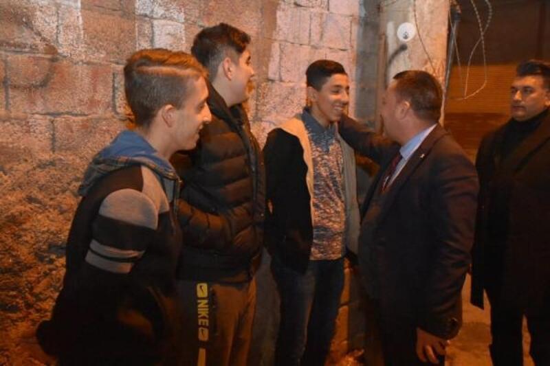 Başkan Beyoğlu, yeni yıla vatandaşlarla girdi