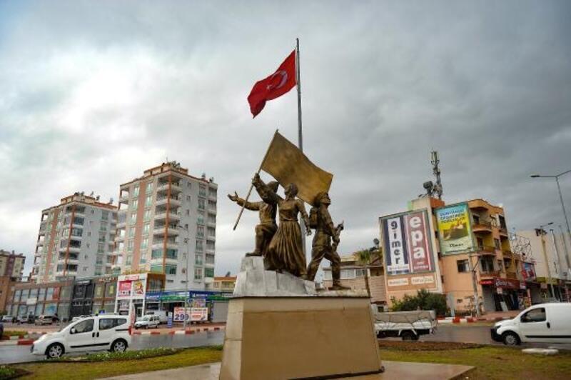 Kuvayı Milliye Anıtı Mersin'in Kurtuluş Günü'nde açılıyor