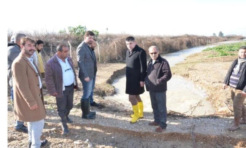 Tarsus'ta yaşanan taşkın ve sele büyükşehirden müdahale