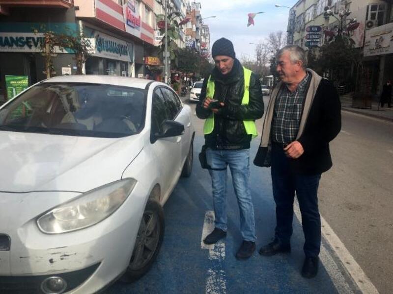 Isparta caddelerinde ücretli park uygulaması