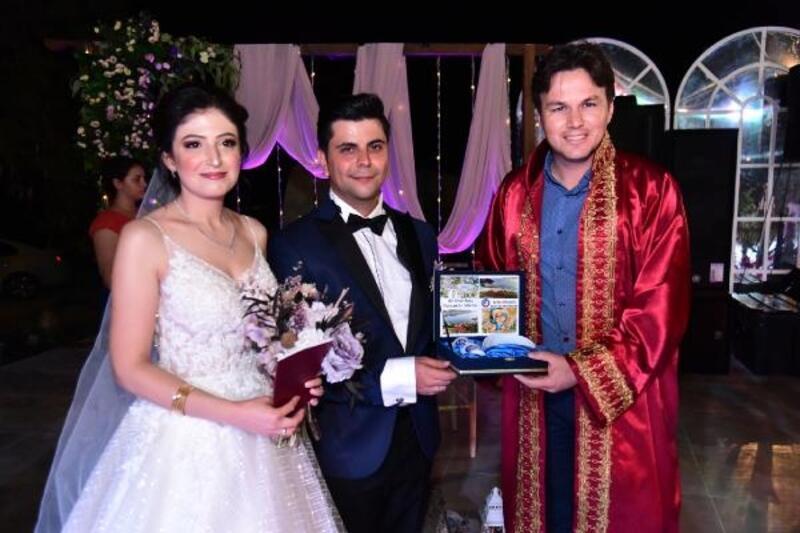 Demre'de 2019'da 148 çift evlendi