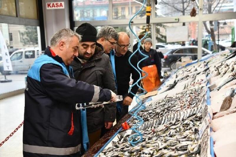 Kayseri'de balık denetimi