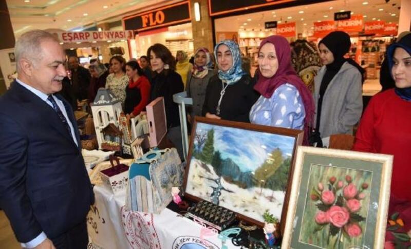 Osmaniye'de el ürünleri ve fotoğraf sergisi
