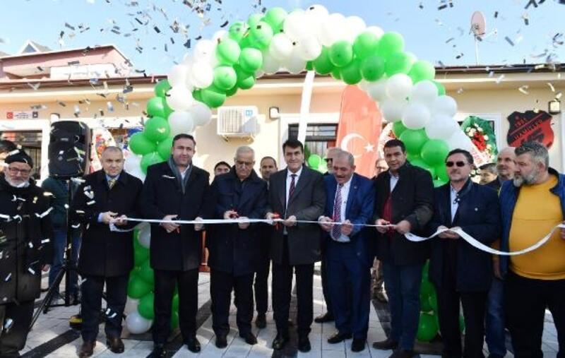 Hamitler hizmet binası törenle açıldı