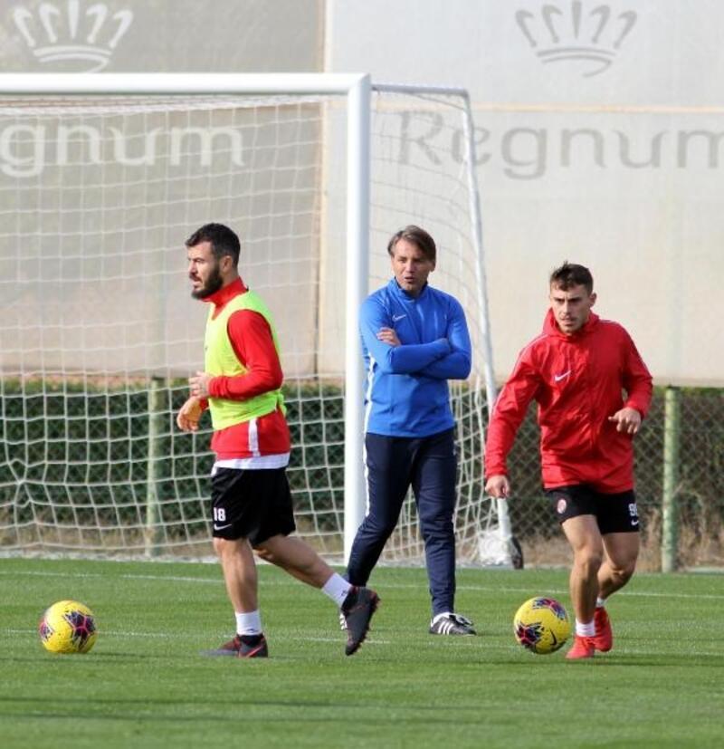 Antalyaspor'da ikinci yarı hazırlığı