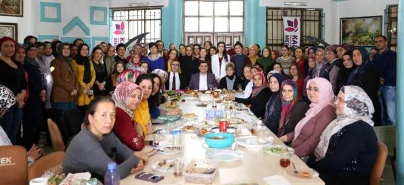 Kepez'de kadınlara yönelik çalışmalar
