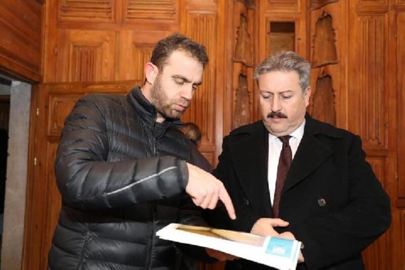 Başkan Palancıoğlu, konakları inceledi