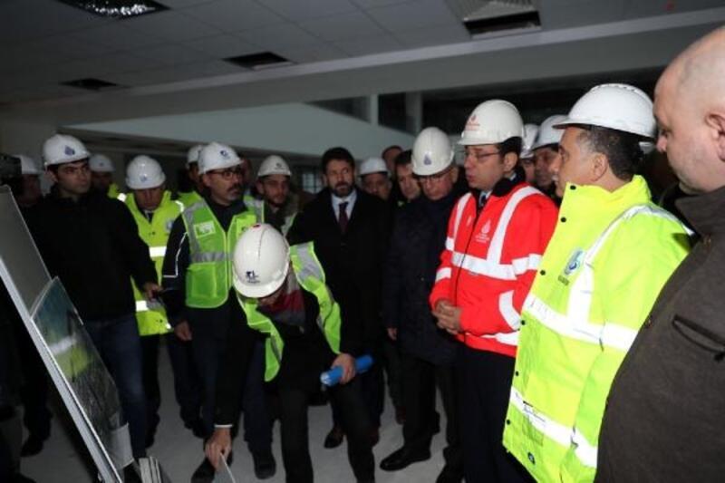 Bağcılar Belediyesi'ne Ekrem İmamoğlu ziyareti