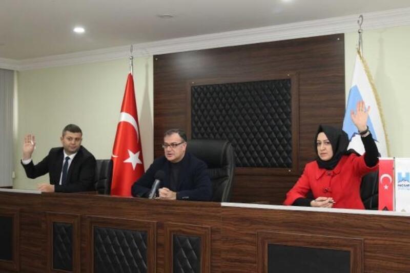 Hacılar'da yeni yılın ilk meclis toplantısı yapıldı
