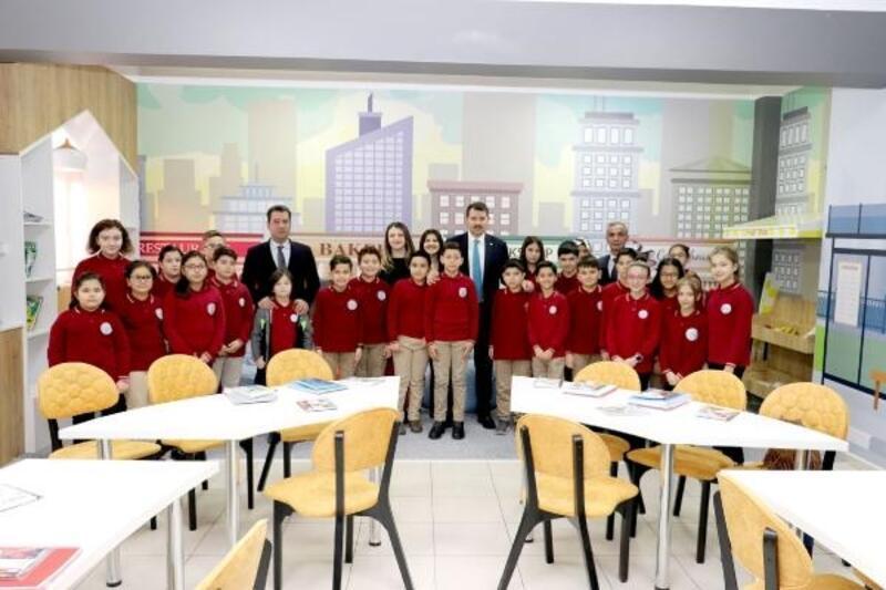 Ortaokulda yabancı dil atölyesi açıldı