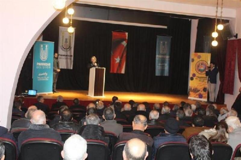 Pınarhisar'da 'Apiterapi' konferansı