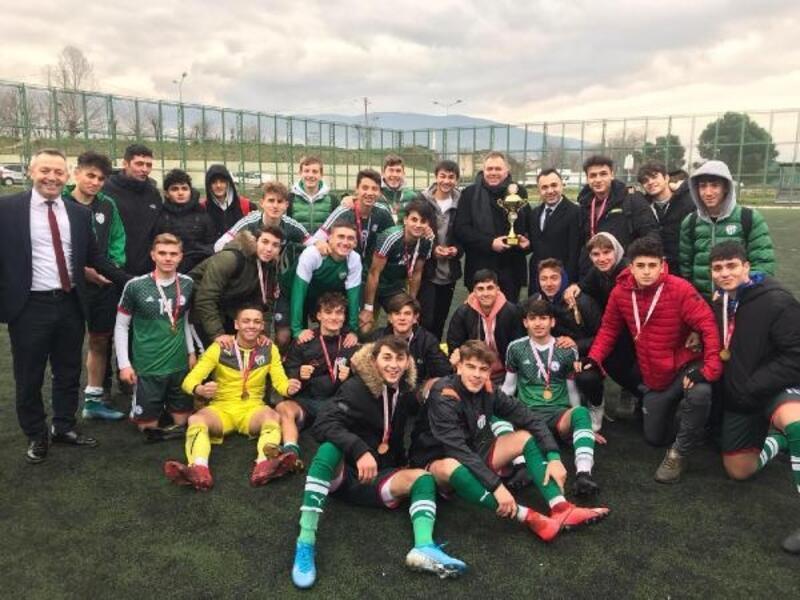 Bursaspor'un gençleri, Bursa şampiyonu