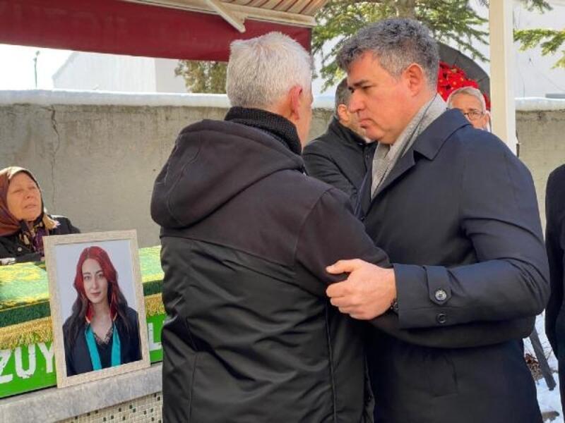 Feyzioğlu'ndan genç avukata son görev