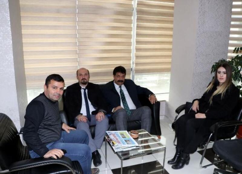 VEDAŞ İl Müdürü Özdemir'den DHA'ya ziyaret