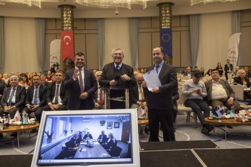 Mersin ve Leszno arasında 'İyi niyet belgesi' imzalandı
