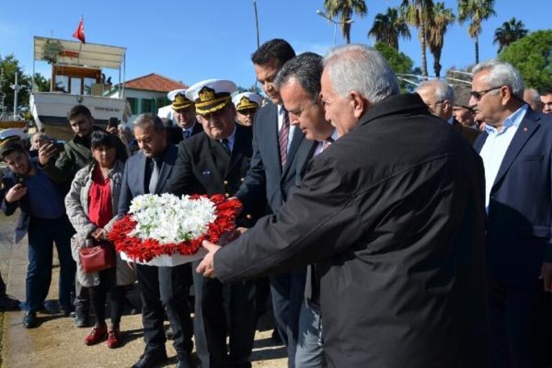 Mustafa Ertuğrul Kaş'ta anıldı