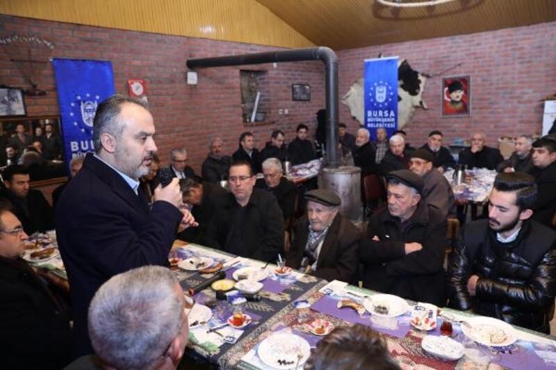 Başkan Aktaş, Ürünlü'de mahalle sakinleriyle kahvaltıda buluştu