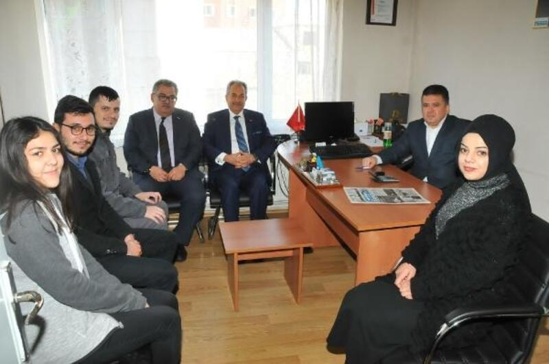 Akşehir Belediye Başkanı, gazetecileri ziyaret etti