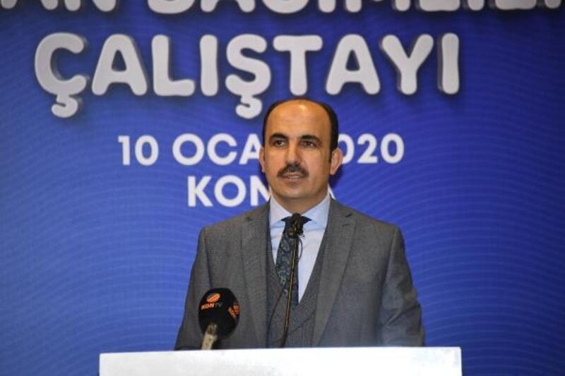 Konya Büyükşehir Belediyesi'nden 'Erkan Bağımlılığı Çalıştayı