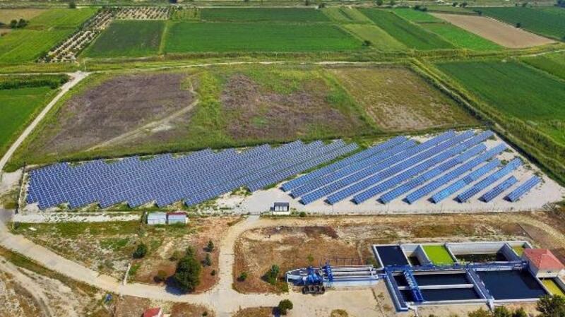 Büyükşehir, 3'üncü güneş enerji santrali yapımına başladı