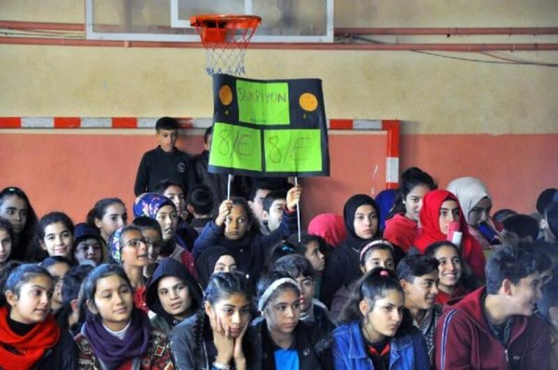 Reyhanlı'da sınıflar arası bilgi yarışması yapıldı