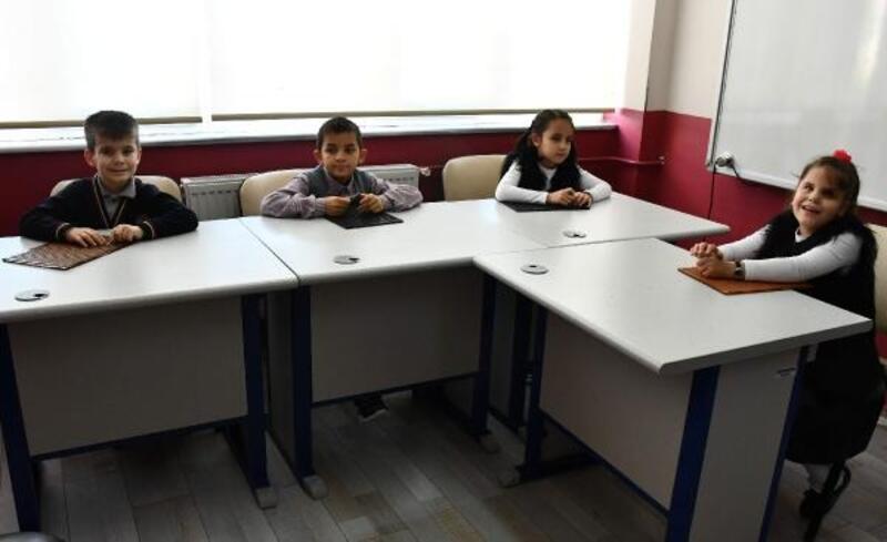 Erdoğan ile görüşen görme engelli çocukların mutluluğu
