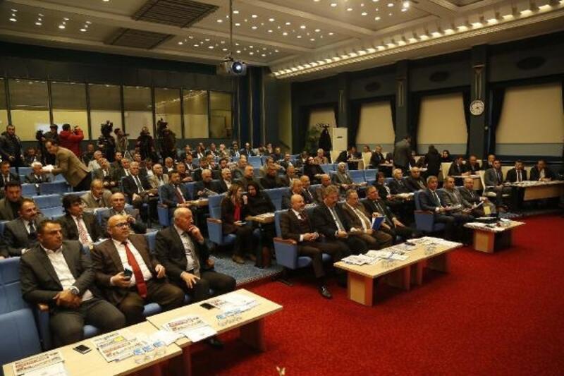Büyükşehir meclisinde 48 madde görüşüldü