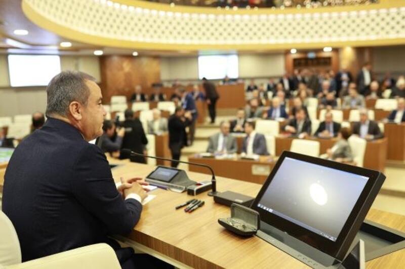 Büyükşehir Meclisi 2 dakika sürdü