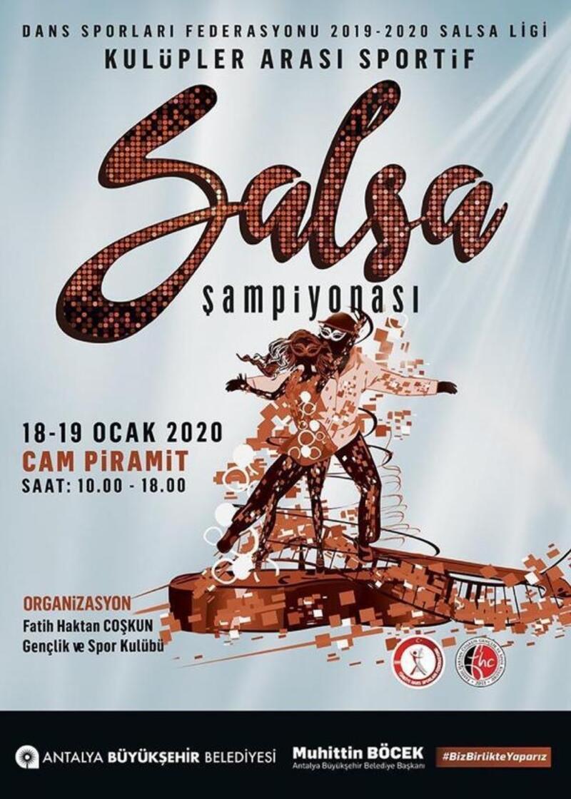 Büyükşehir'den Salsa Şampiyonası
