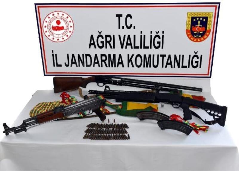 Ağrı'da PKK/KCK'nın silah taciri yakalandı