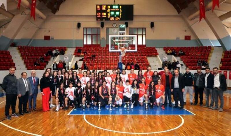 Basketbol il birinciliği müsabakaları tamamlandı