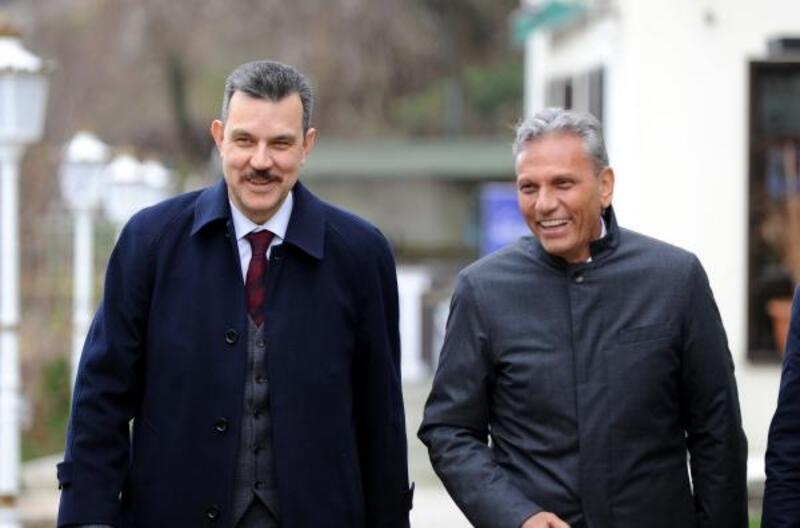 TÜRSAB Başkanı Bağlıkaya, milletvekili Esgin ile bir araya geldi