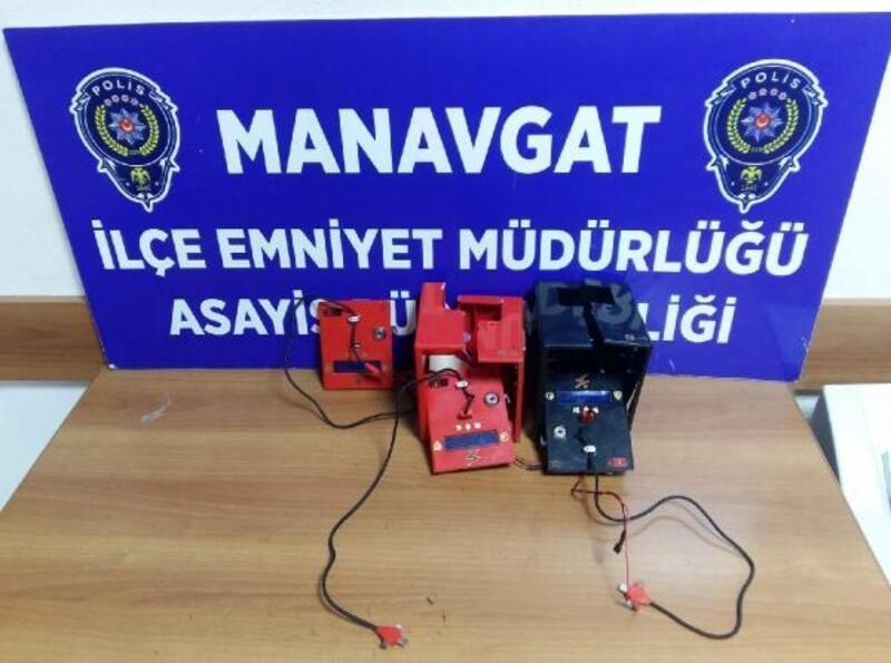 Tipboks kutusu ve şarjmatik çalan şüpheli tutuklandı
