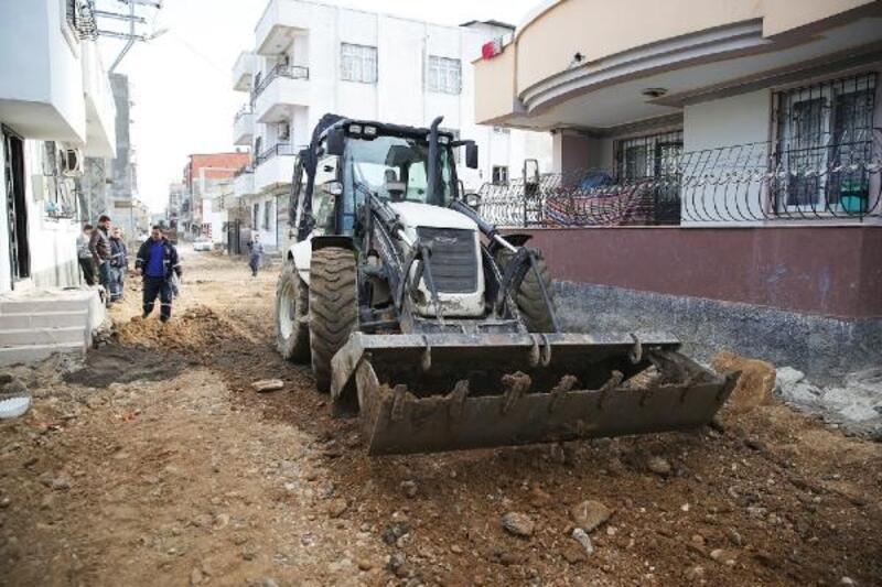 Altyapısıtamamlanan sokaklara stabilize yol