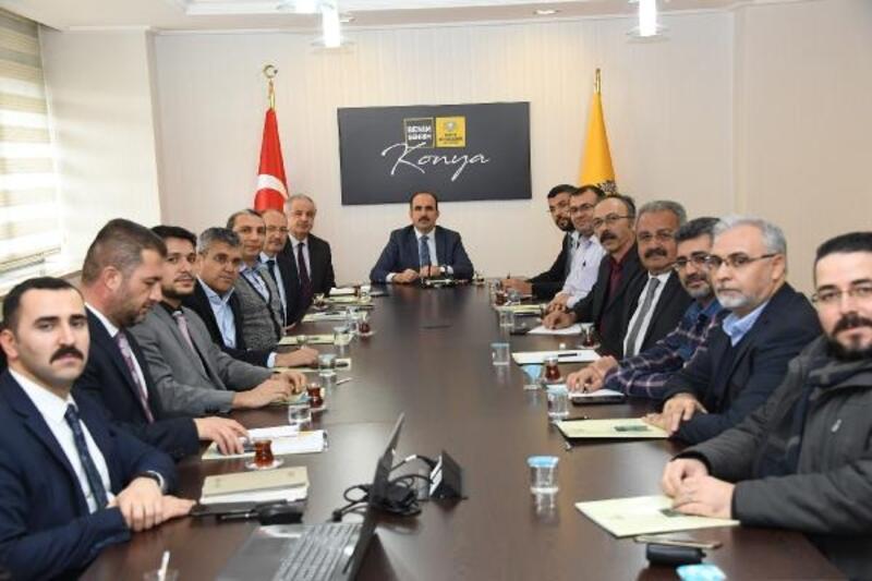 Başkan Altay , oda başkanlarıyla metro ve banliyö hattını istişare etti