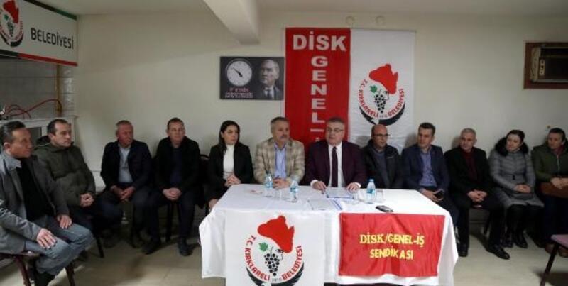 Kırklareli Belediyesi, toplu iş sözleşmesi imzaladı