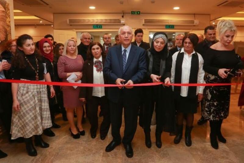 'Elifim Atölyesi' resim sergisi açıldı