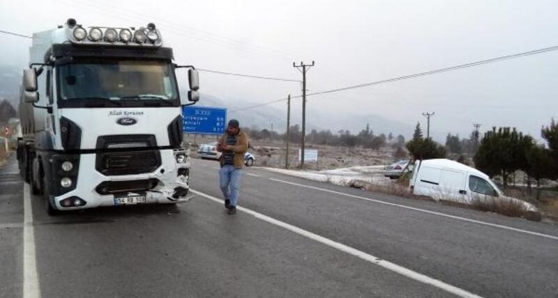 Yeşilova'da kaza: 1 yaralı