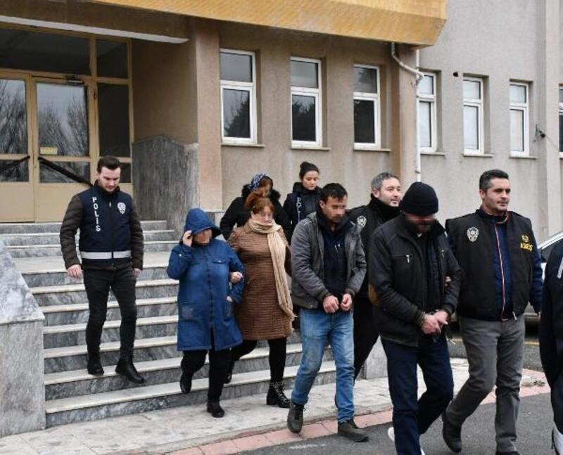 Çorlu'da villaya fuhuş baskınında 3 tutuklama