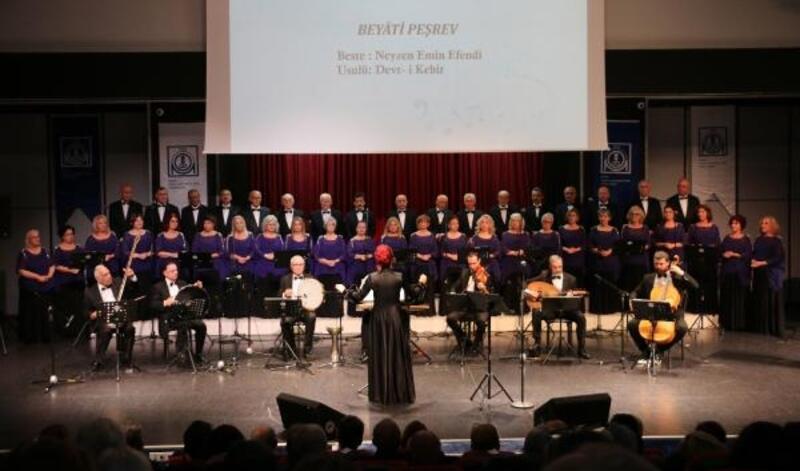 MMO Türk Müziği Korosu'ndan müzik ziyafeti
